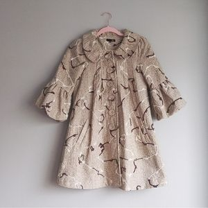 Raj Babydoll Coat